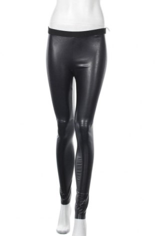 Дамски кожен клин Marc Cain, Размер S, Цвят Черен, Еко кожа, Цена 124,50лв.