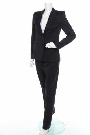 Γυναικείο κοστούμι Hugo Boss, Μέγεθος M, Χρώμα Μπλέ, 99% μαλλί, 1% ελαστάνη, Τιμή 77,07€