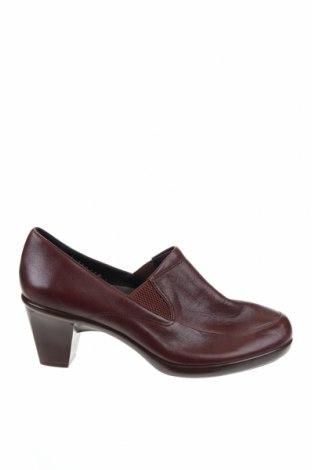 Дамски обувки, Размер 41, Цвят Кафяв, Естествена кожа, Цена 40,95лв.