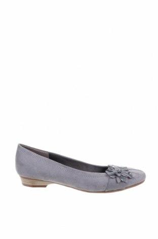 Дамски обувки, Размер 39, Цвят Сив, Текстил, Цена 25,20лв.