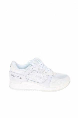 Дамски обувки ASICS, Размер 36, Цвят Бял, Естествена кожа, текстил, еко кожа, Цена 119,25лв.