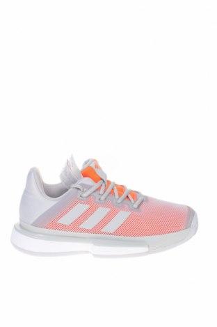 Дамски обувки Adidas, Размер 38, Цвят Сив, Текстил, Цена 134,25лв.