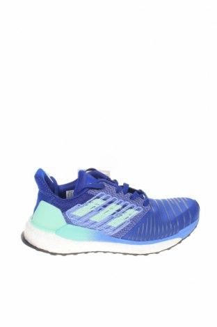 Дамски обувки Adidas, Размер 38, Цвят Син, Текстил, еко кожа, Цена 134,25лв.