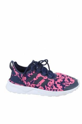Дамски обувки Adidas, Размер 37, Цвят Син, Текстил, Цена 42,00лв.