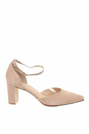 Дамски обувки Anna Field, Размер 43, Цвят Бежов, Естествен велур, Цена 81,75лв.