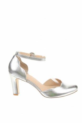 Дамски обувки Anna Field, Размер 37, Цвят Сребрист, Естествена кожа, Цена 37,60лв.