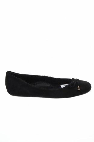 Дамски обувки Bally, Размер 36, Цвят Черен, Естествен велур, Цена 134,40лв.
