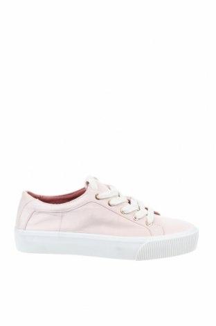 Дамски обувки Bershka, Размер 37, Цвят Розов, Текстил, Цена 21,00лв.