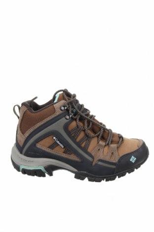 Дамски обувки Columbia, Размер 36, Цвят Бежов, Естествен велур, текстил, Цена 126,75лв.