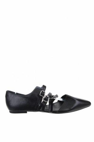 Γυναικεία παπούτσια Diana Ferrari, Μέγεθος 43, Χρώμα Μαύρο, Γνήσιο δέρμα, Τιμή 40,27€