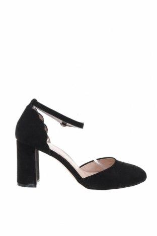 Дамски обувки Dorothy Perkins, Размер 41, Цвят Черен, Текстил, Цена 29,58лв.