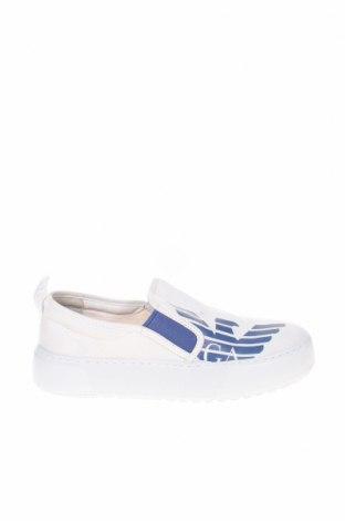 Дамски обувки Emporio Armani, Размер 37, Цвят Бял, Текстил, Цена 142,45лв.