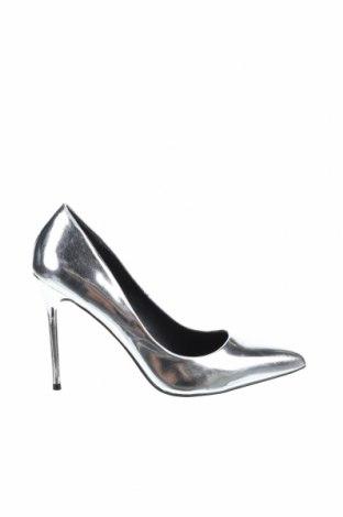 Дамски обувки Even&Odd, Размер 39, Цвят Сребрист, Полиуретан, Цена 35,40лв.