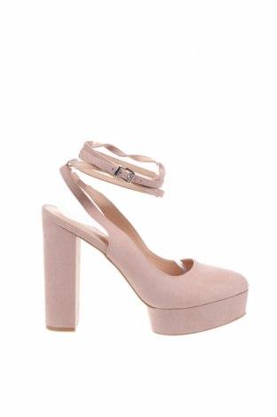 Дамски обувки Even&Odd, Размер 41, Цвят Пепел от рози, Текстил, Цена 35,40лв.
