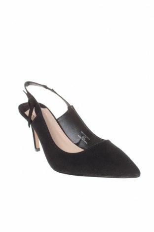 Дамски обувки Faith, Размер 41, Цвят Черен, Текстил, Цена 26,55лв.