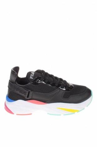 Дамски обувки Fila, Размер 40, Цвят Черен, Еко кожа, текстил, Цена 104,25лв.