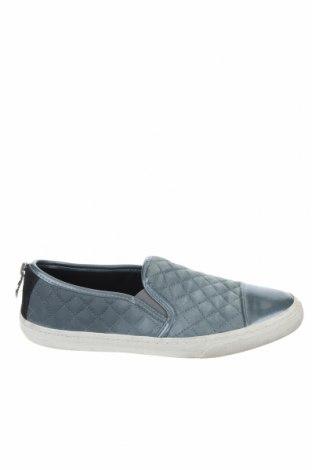 Дамски обувки Geox, Размер 37, Цвят Син, Естествен велур, еко кожа, Цена 46,98лв.