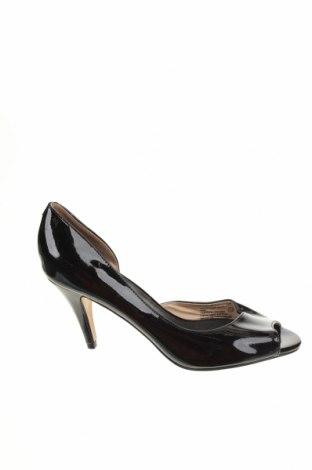 Дамски обувки Giovanna, Размер 38, Цвят Черен, Естествена кожа, Цена 12,08лв.