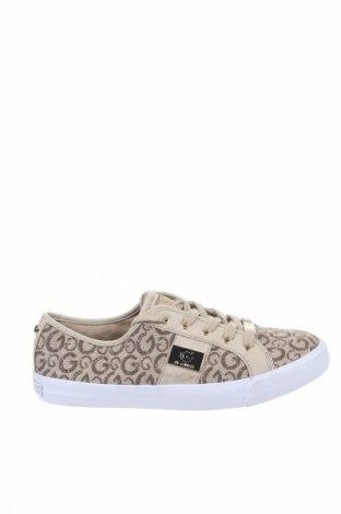 Γυναικεία παπούτσια Guess, Μέγεθος 39, Χρώμα  Μπέζ, Κλωστοϋφαντουργικά προϊόντα, Τιμή 47,51€