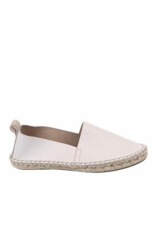 Дамски обувки H&M, Размер 41, Цвят Бежов, Естествена кожа, Цена 29,25лв.