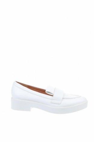 Дамски обувки H&M, Размер 37, Цвят Бял, Еко кожа, Цена 23,25лв.