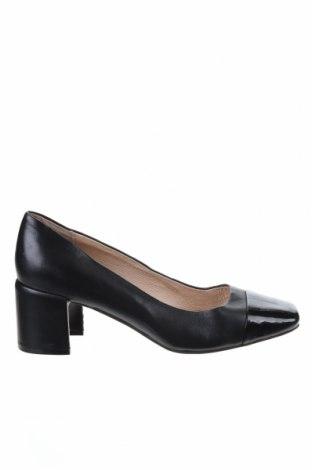 Дамски обувки Jo Mercer, Размер 37, Цвят Черен, Естествена кожа, Цена 77,70лв.
