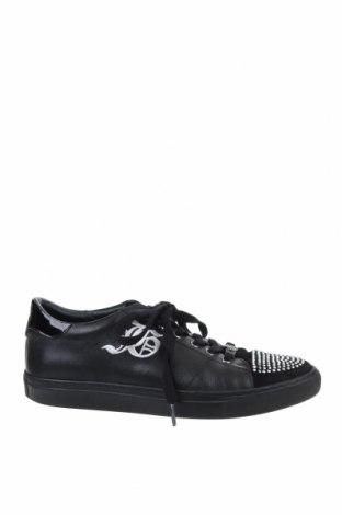 Дамски обувки John Galliano, Размер 40, Цвят Черен, Естествена кожа, Цена 106,40лв.