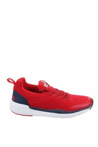 Дамски обувки Levi's, Размер 39, Цвят Червен, Текстил, еко кожа, Цена 89,25лв.