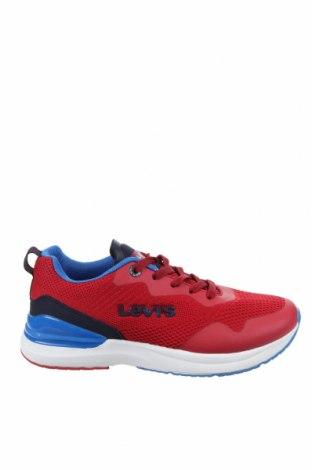 Дамски обувки Levi's, Размер 37, Цвят Червен, Текстил, еко кожа, Цена 104,25лв.