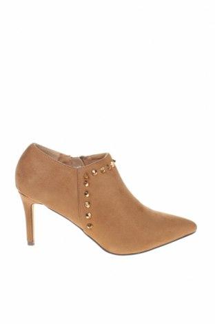Дамски обувки Menbur, Размер 38, Цвят Бежов, Текстил, Цена 62,10лв.