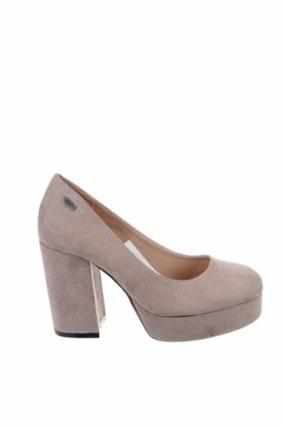 Дамски обувки Mtng, Размер 36, Цвят Бежов, Текстил, Цена 66,24лв.