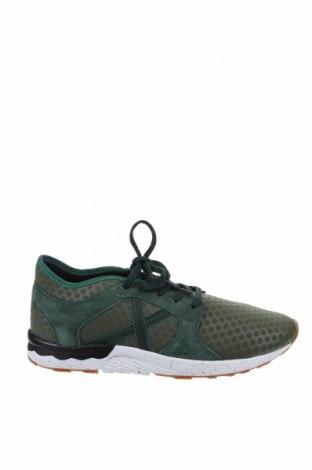 Дамски обувки Munich, Размер 41, Цвят Зелен, Текстил, естествен велур, Цена 119,25лв.