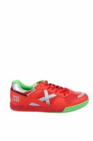 Дамски обувки Munich, Размер 39, Цвят Червен, Естествена кожа, еко кожа, текстил, Цена 60,42лв.