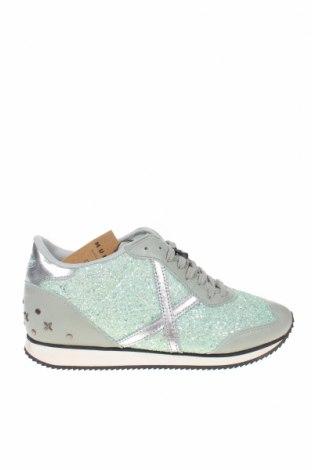 Дамски обувки Munich, Размер 41, Цвят Зелен, Текстил, естествена кожа, Цена 119,25лв.