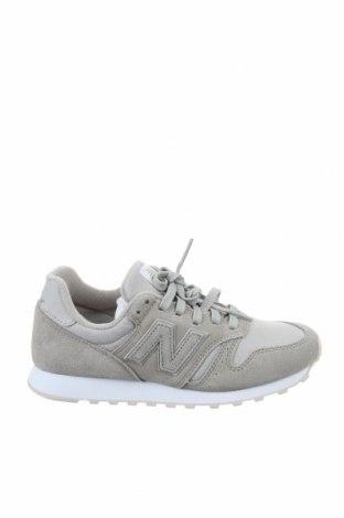 Дамски обувки New Balance, Размер 37, Цвят Сив, Естествен велур, текстил, Цена 134,25лв.