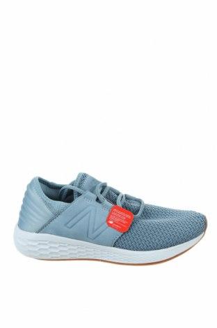 Дамски обувки New Balance, Размер 39, Цвят Син, Текстил, естествен велур, Цена 134,25лв.
