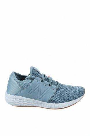 Дамски обувки New Balance, Размер 38, Цвят Син, Текстил, естествен велур, Цена 134,25лв.