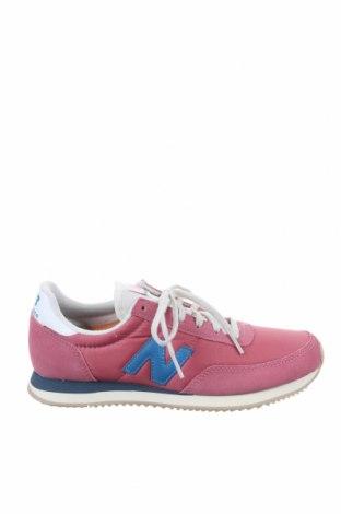 Дамски обувки New Balance, Размер 39, Цвят Розов, Текстил, естествен велур, Цена 134,25лв.