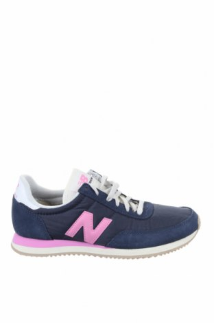 Дамски обувки New Balance, Размер 37, Цвят Син, Текстил, естествен велур, Цена 134,25лв.