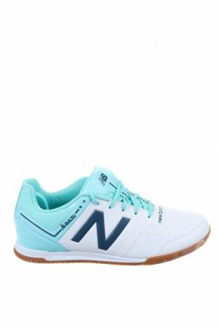 Дамски обувки New Balance, Размер 38, Цвят Бял, Еко кожа, Цена 96,75лв.