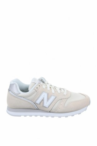 Дамски обувки New Balance, Размер 37, Цвят Екрю, Естествен велур, текстил, Цена 134,25лв.