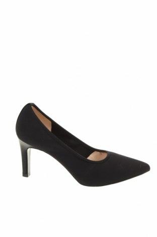 Γυναικεία παπούτσια Peter Kaiser, Μέγεθος 37, Χρώμα Μαύρο, Κλωστοϋφαντουργικά προϊόντα, Τιμή 24,59€