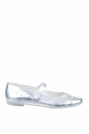 Дамски обувки Primigi, Размер 37, Цвят Сребрист, Естествена кожа, Цена 44,55лв.