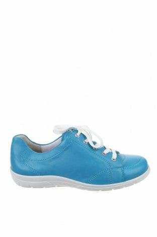 Дамски обувки Semler, Размер 42, Цвят Син, Естествена кожа, Цена 48,30лв.