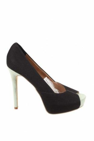 Дамски обувки Suite Blanco, Размер 39, Цвят Черен, Текстил, Цена 43,45лв.