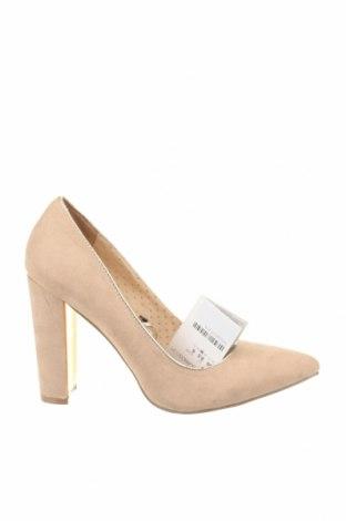 Дамски обувки Suite Blanco, Размер 39, Цвят Бежов, Текстил, Цена 31,60лв.