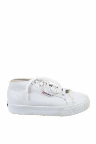 Дамски обувки Superga, Размер 37, Цвят Бял, Естествена кожа, Цена 79,50лв.
