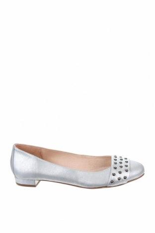 Дамски обувки Unisa, Размер 37, Цвят Сребрист, Естествена кожа, Цена 41,06лв.