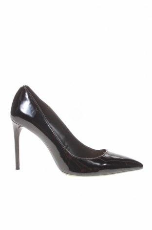 Дамски обувки Zara, Размер 39, Цвят Черен, Еко кожа, Цена 27,88лв.