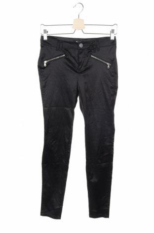 Дамски панталон Jennyfer, Размер XS, Цвят Черен, 53% полиестер, 45% памук, 2% еластан, Цена 22,05лв.